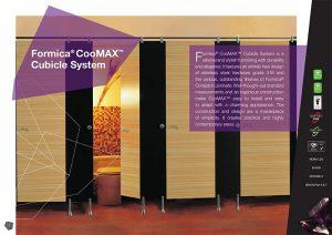 Hệ thống vách ngăn vệ sinh Formica CooMAX